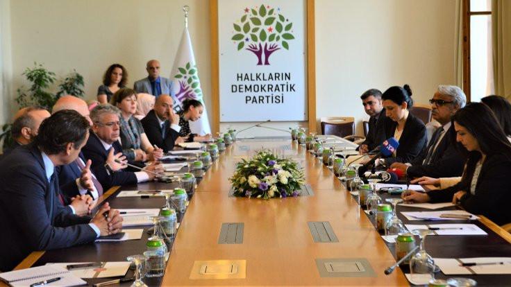 AGİT-PA HDP'yi ziyaret etti