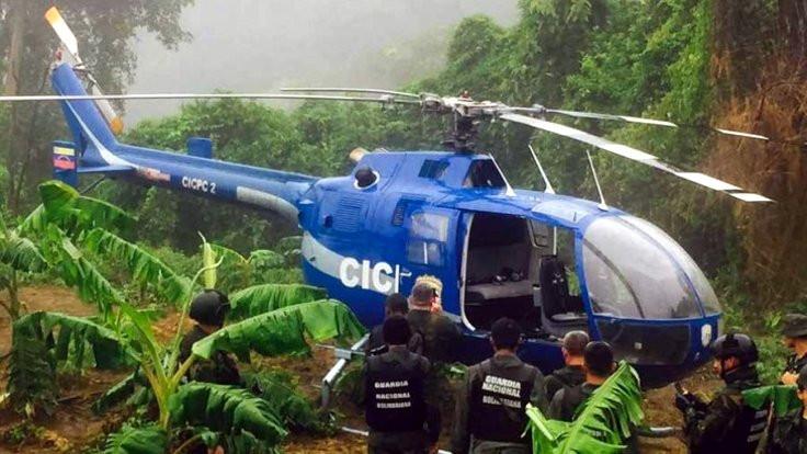 Mahkemeyi bombalayan helikopter bulundu