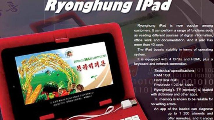 Kuzey Kore 'iPad' yaptı!