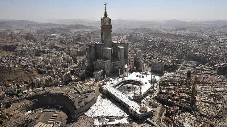Mekke'de canlı bomba engellendi