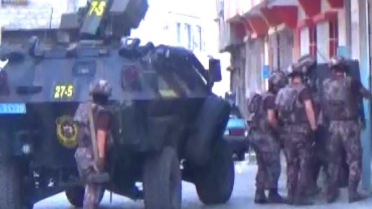 Gaziantep'te İHA destekli gözaltı