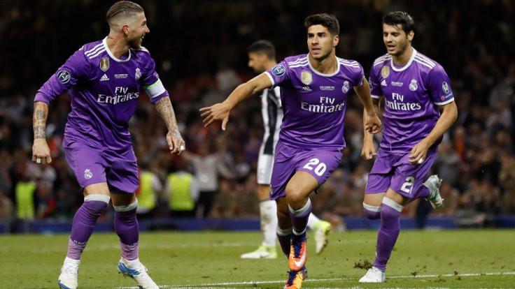 Real Madrid'ten tarihi zafer