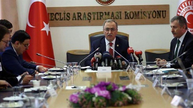 'Komisyon'a ulaşan raporların hâl-i pür melâli
