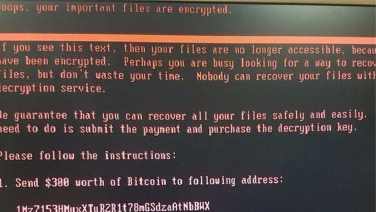 Küresel siber saldırı