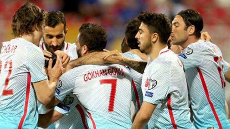 Kosova- Türkiye maçında 5 gol