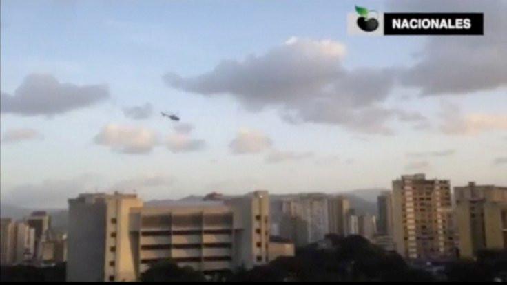 Venezuela'da Yüksek Mahkeme'ye helikopter saldırısı