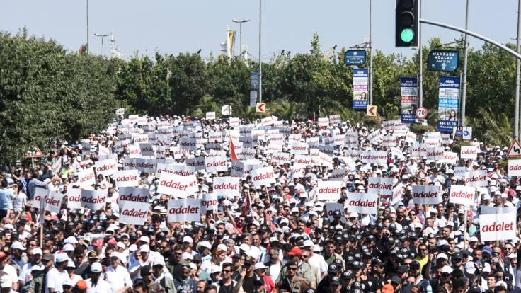 TBB'den 'Adalet Yürüyüşü' açıklaması