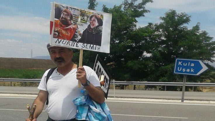 Gülmen ve Özakça için yürüyen Kızılçay'a FETÖ suçlaması