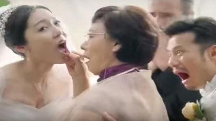 Çin'de kadını aşağılayan reklam