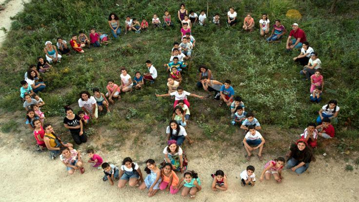 Ekinci'de bir bayram havası: Servas Barış Okulu