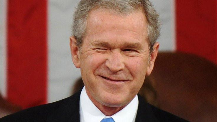 Bush kendi portrelerini yapıyor