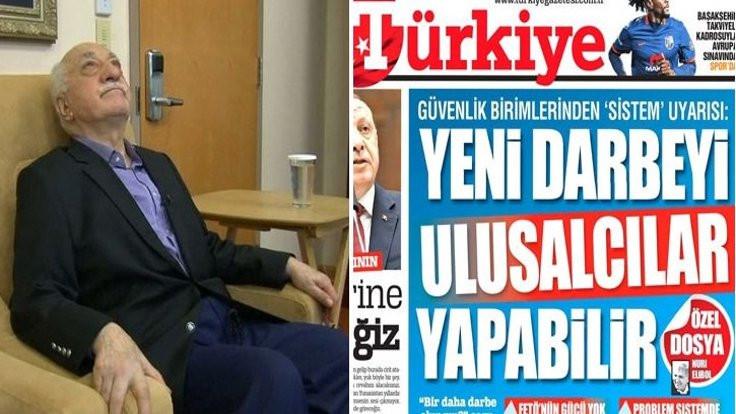 Türkiye gazetesine 'FETÖ' suçlaması