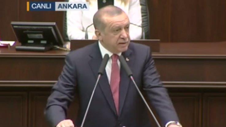 Erdoğan kime mesaj verdi?