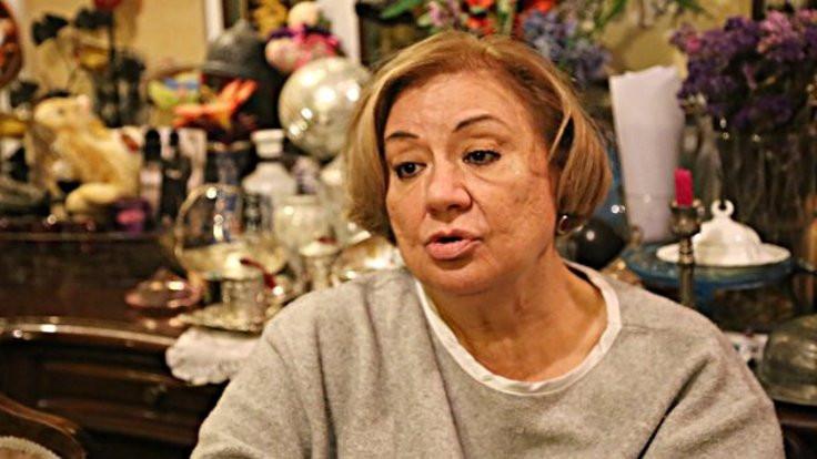 İnşaat tiyatrocu Gülsen Tuncer'in evini çatlattı