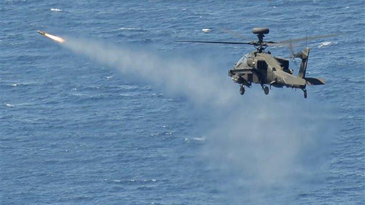 Ege'de 'helikopter gerginliği' iddiası