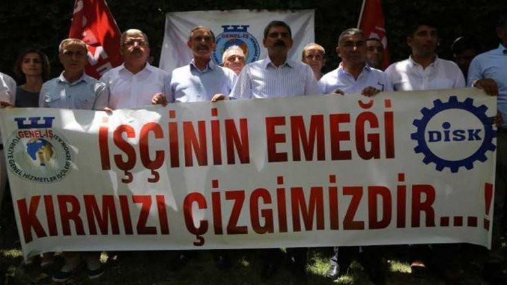 Genel İş'ten protesto