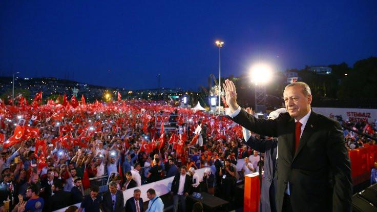 Cumhurbaşkanı Erdoğan: Bunları tek tip elbise ile mahkemeye çıkaralım