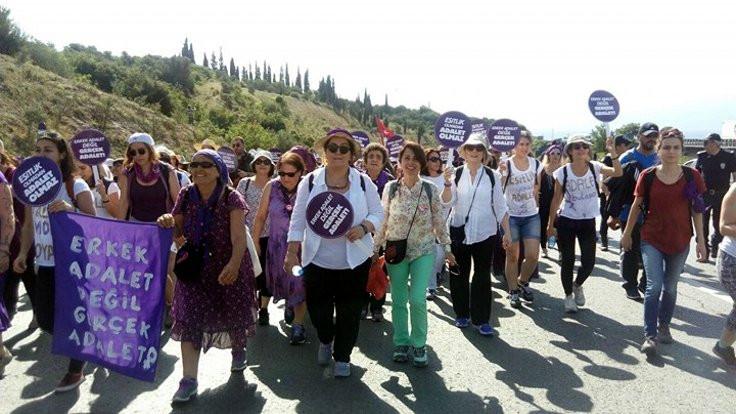 'En büyük adalet yürüyüşçüsü kadınlar'