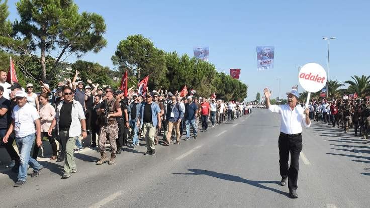 Adalet yürüyüşü ve siyasi etkileri…