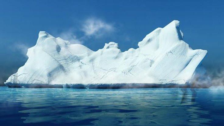 Antarktika'nın şekli değişti!