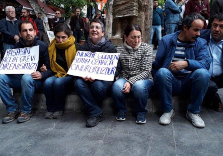 'Yüksel eylemcileri' serbest bırakıldı