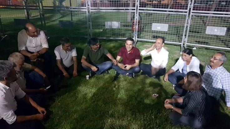 HDP'den 'Vicdan ve Adalet Nöbeti'