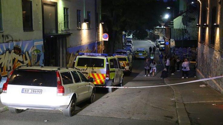 Oslo'da gece  kulübüne silahlı saldırı