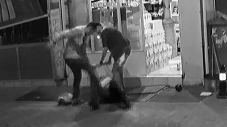 Esnaf döven koruma polisi ve şoför açığa alındı
