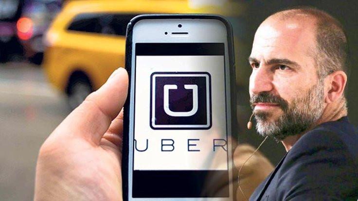 Uber'de yeni kaptan İranlı