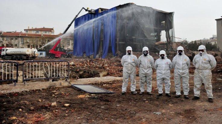 Bilirkişi raporu: Ankara'da asbest var