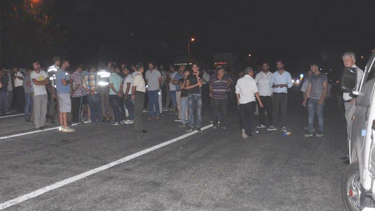 Germencik'te kaza öfkesi, yolu trafiğe kapattılar