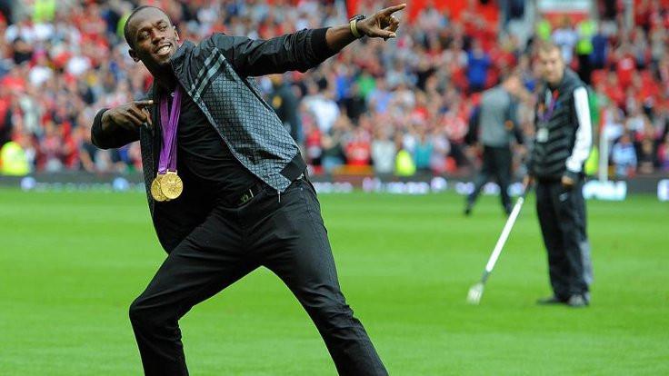 Usain Bolt futbola başlıyor!