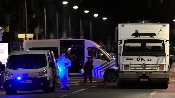 Belçika'da askerlere saldırı