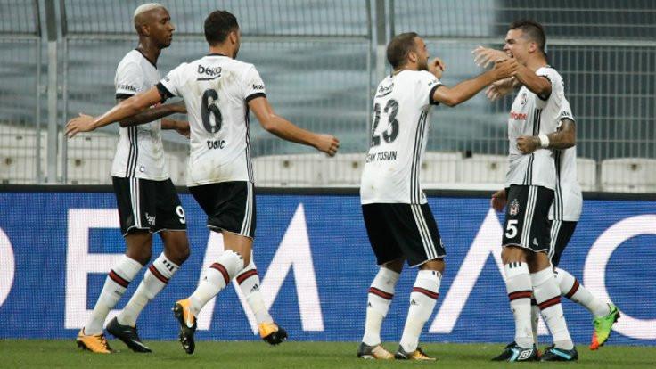 Beşiktaş, galibiyetle başladı