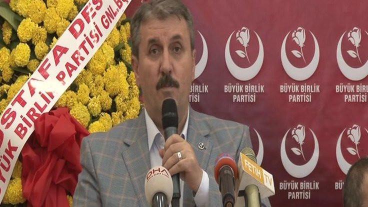 Destici'den AK Partili Oğan'a tepki: Adımızı kullanarak hainlik yaptı