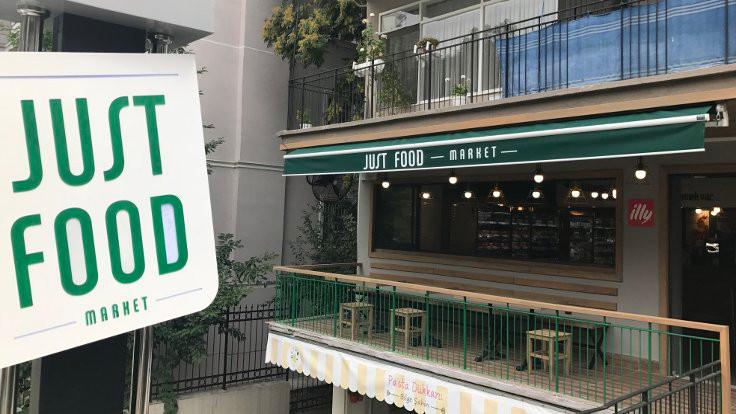 Ankara'nın ilk hazır yemek marketi Just Food