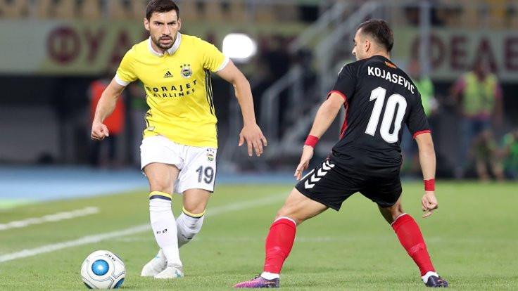Fenerbahçe, Vardar'ı geçemedi