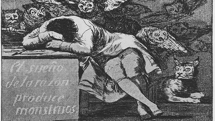 Toplumsallığın uykusu canavarlar yaratır
