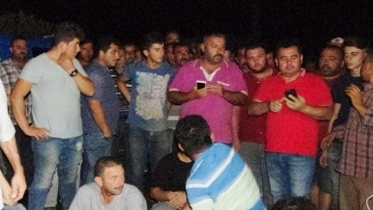 Ödemiş'te elektrik protestosu