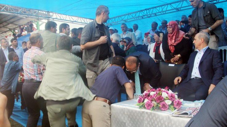 AK Partili başkanla tartışan müdür kızağa çekildi