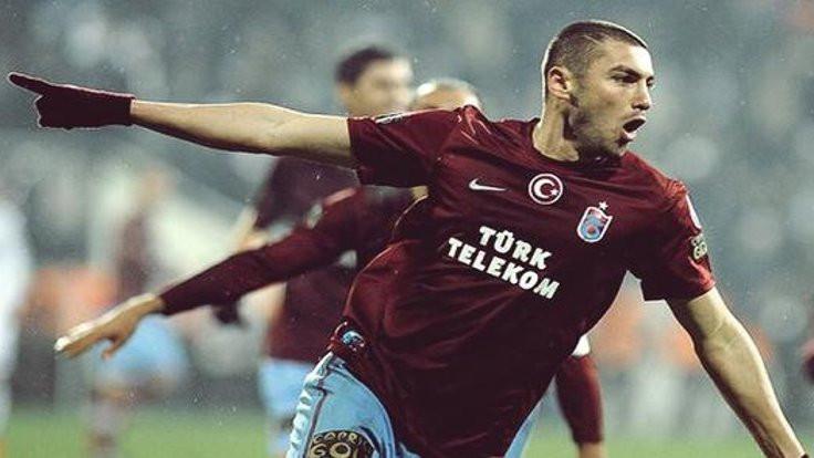 Burak Yılmaz Trabzonspor'a döndü