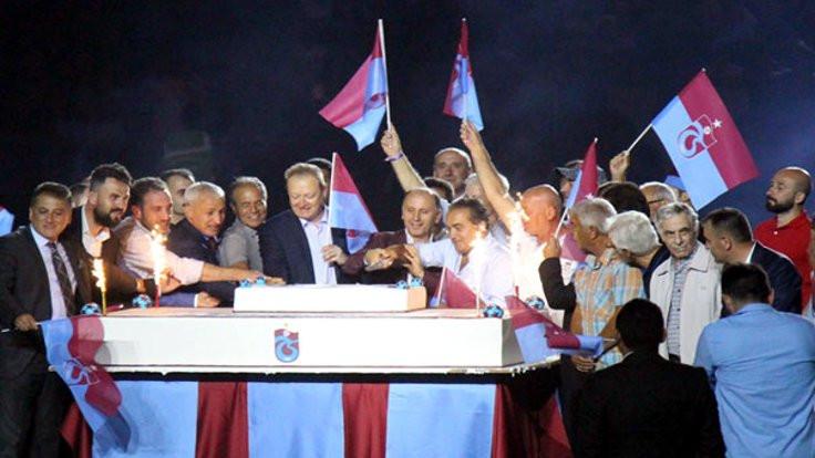 Trabzonspor 50'nci yılını kutladı