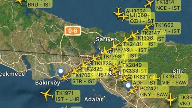 Atatürk Havalimanı'nda hava trafiği karmaşası