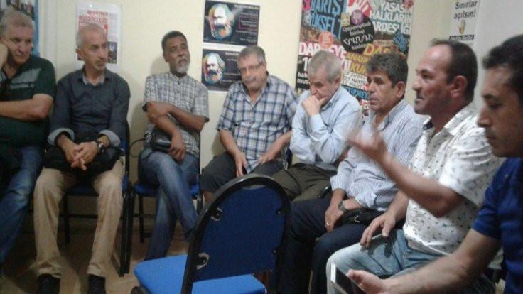 Saya işçileri eylemde: Patronlar 'düne kadar Suriyelilere düşmandınız' diyor