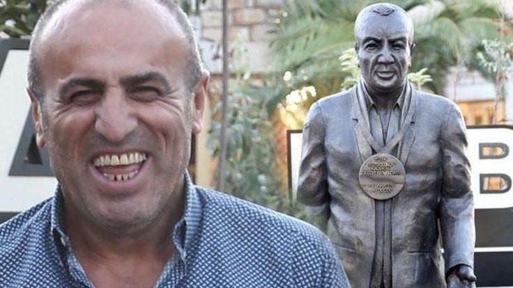 'Türk futbolunun kaderini değiştiren adam' heykeli