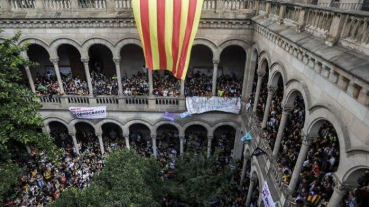 Barcelona Üniversitesi işgal edildi