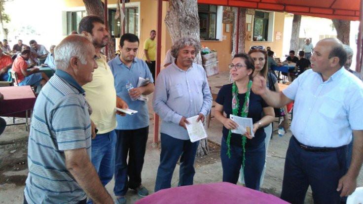 CHP'li Biçer: Üzüm bağımız yok, gönül bağımız var