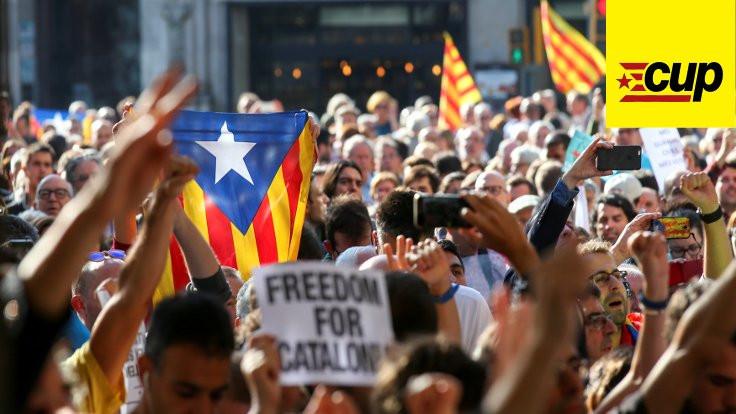 Katalan sol parti CUP: Bu saldırıları Franco'culardan biliyoruz