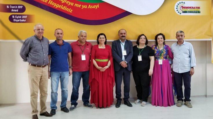 Leyla Güven ve Berdan Öztürk, DTK eşbaşkanlığına seçildi