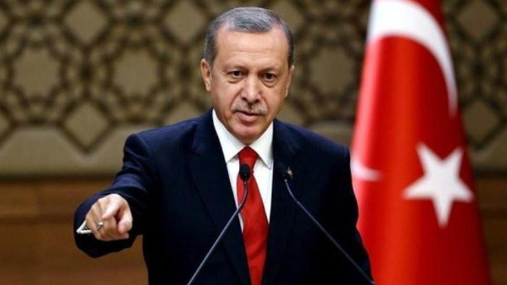 Erdoğan: Kuzey Irak'a yaptırımlar başlarsa yiyecek dahi bulamayacaklar